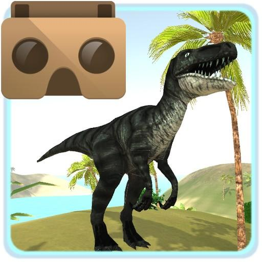 VR Time Machine Dinosaur Park (+ Cardboard)