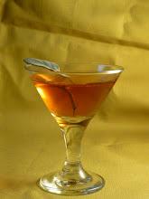 Photo: Tequila Honey cocktail:  Reposado tequila, sage-honey syrup, lemon juice, sage leaf.