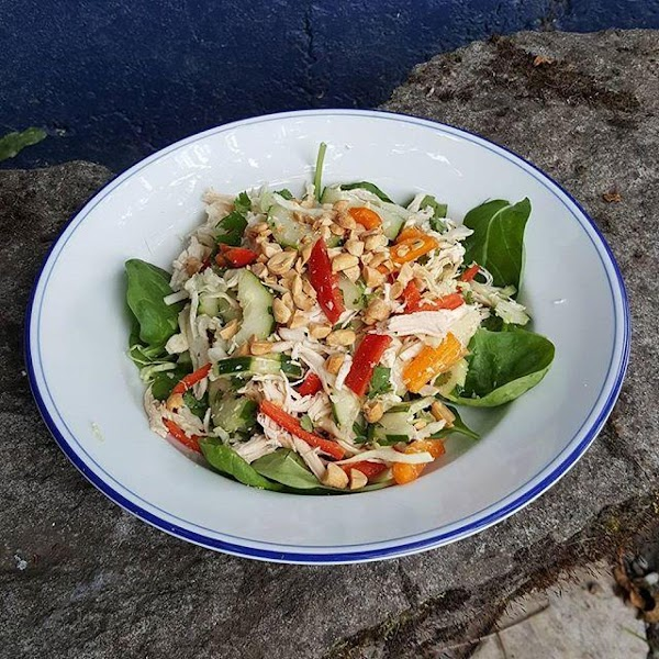 Asian Chicken Salad (no Noodles) Recipe