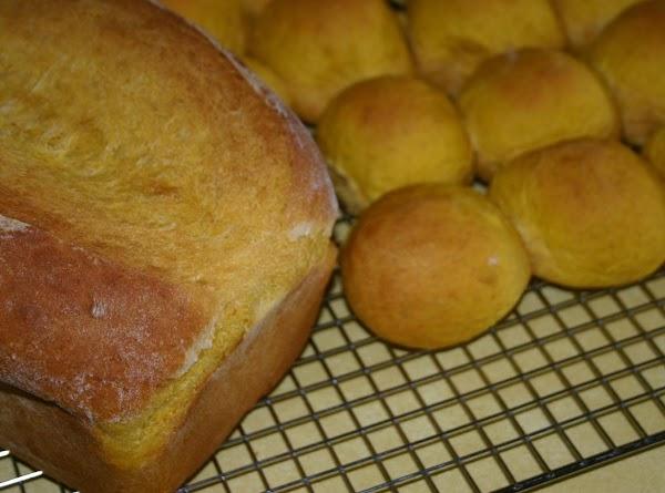 Pumpkin Dinner Rolls/bread Recipe