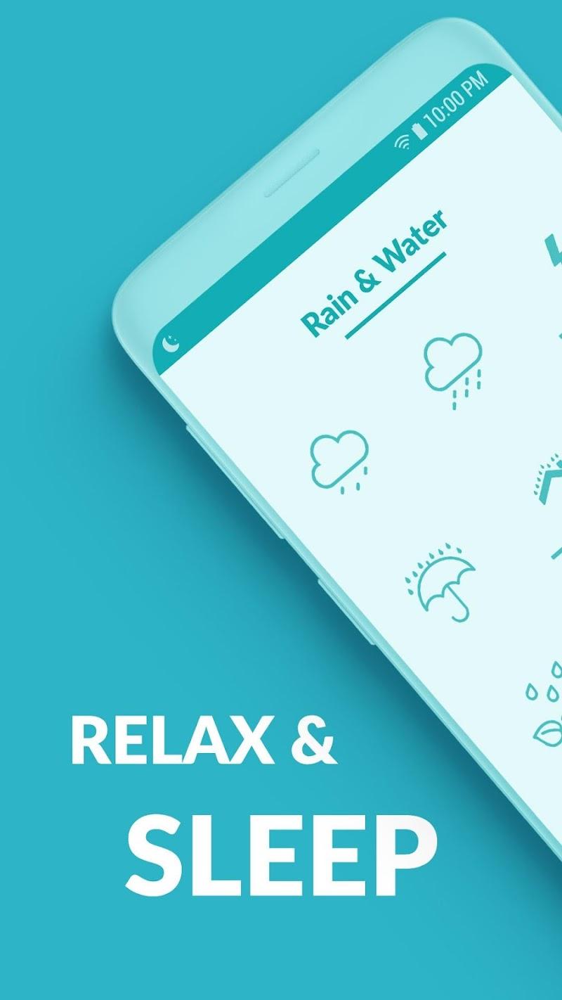 Sleepo: Relaxing sounds, Sleep Screenshot 0