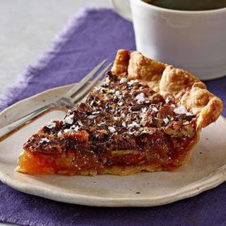 SALTED CHOCOLATE PECAN PIE