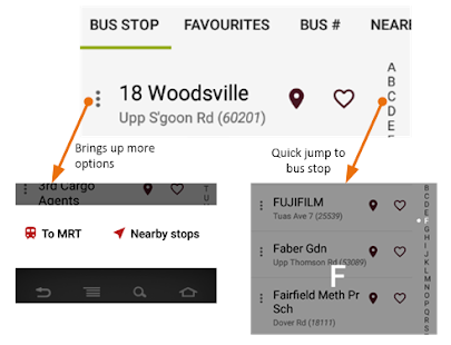 SG Bus Arrival Time - náhled