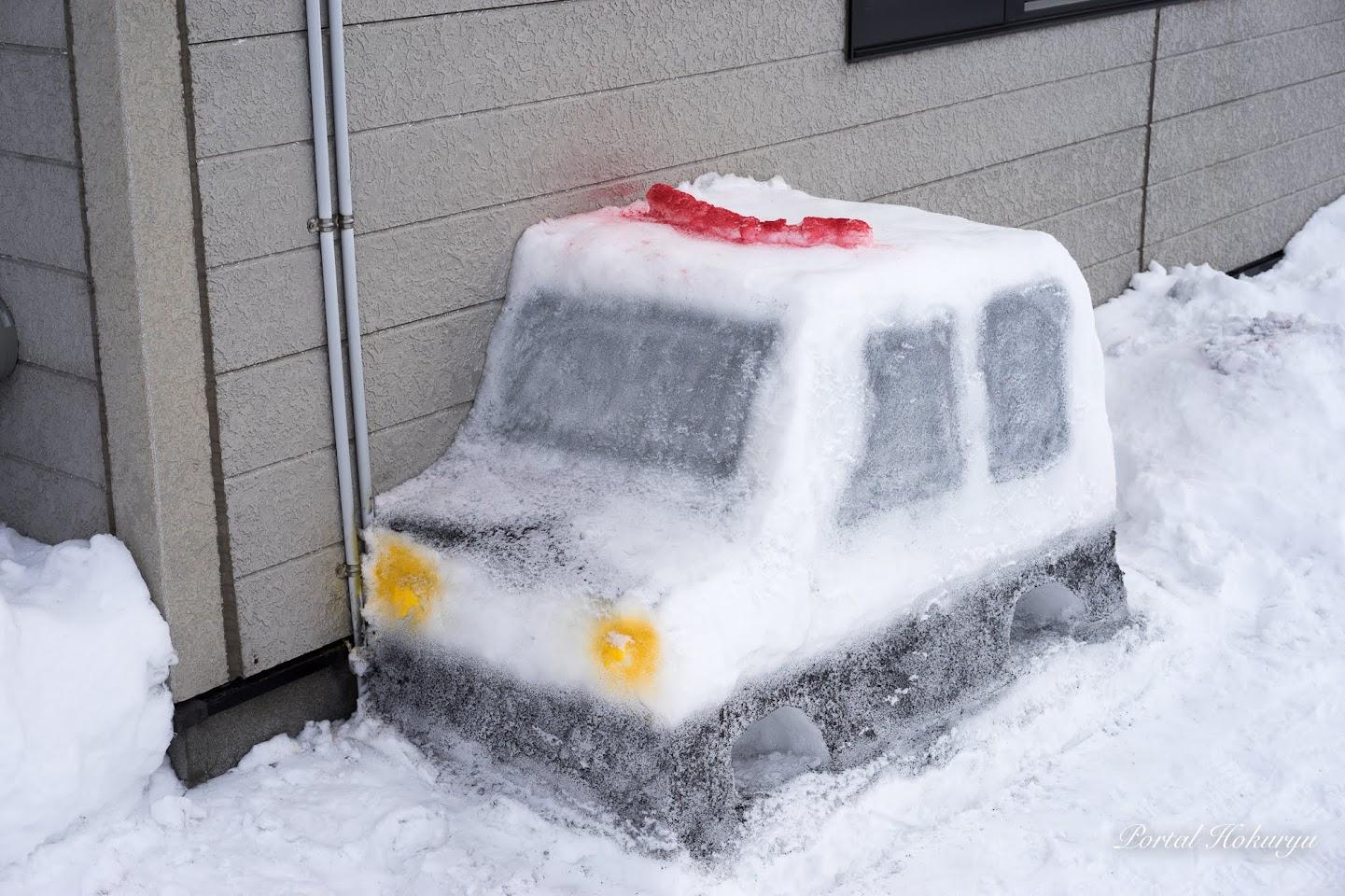 スノーミニパトカー
