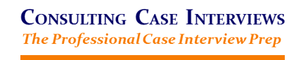 Consulting Case Interviews - The Professional Case Interview Prep