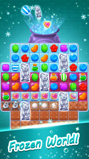 Candy Witch - Match 3 Puzzle Free Games 15.7.5009 screenshots 3