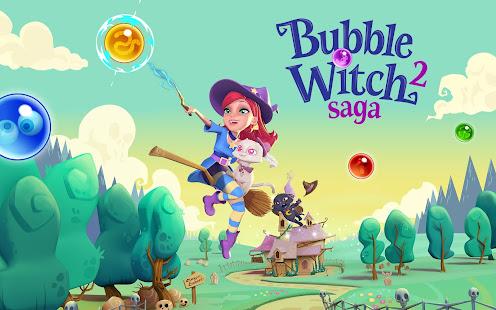Resultado de imagem para Bubble Witch 2 Saga