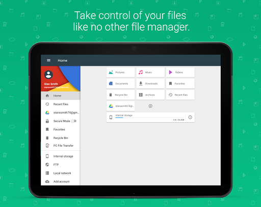 File Commander - File Manager app (apk) free download for Android/PC/Windows screenshot