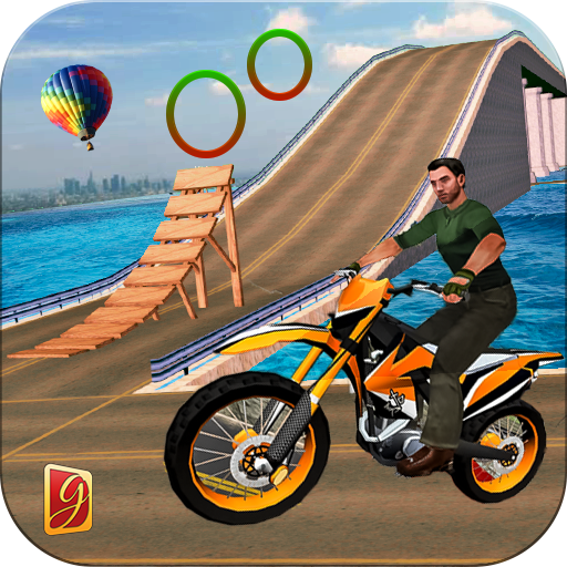 Moto Beach Jumping Bike Stunt (game)