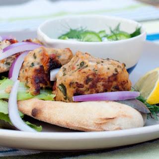 Mediterranean Chicken or Turkey Meatballs