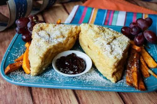 """Monte Cristo Sandwich""""There are many imitations out there, but if it's not..."""