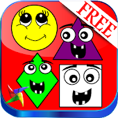 Kindergarten Learn Shapes FREE
