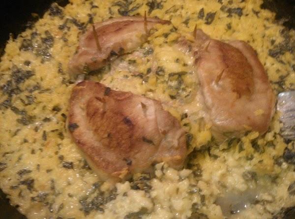 Creamy Stuffed Pork Chops Recipe