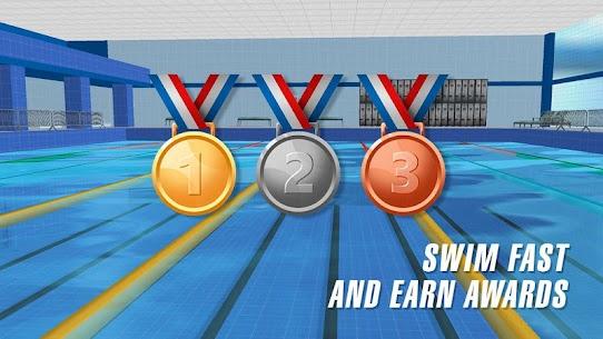 حمام سباحة سباق 3