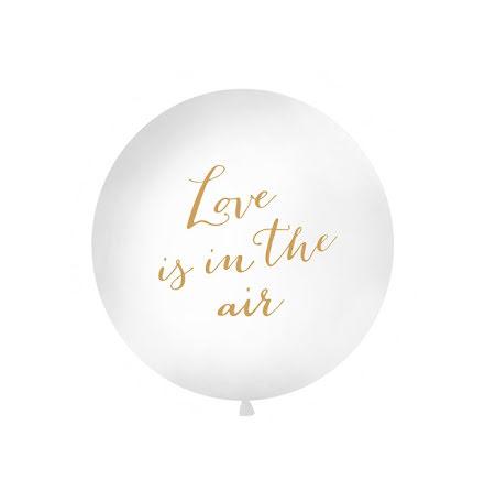 Jätteballong Love is...
