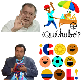 Stickers colombianos para whatsapp Screenshot