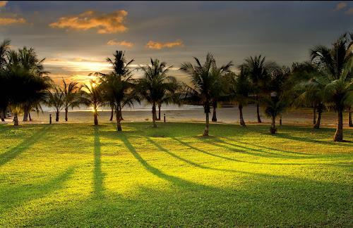 Sunset's Shadow by Mohamad Sa'at Haji Mokim - Landscapes Sunsets & Sunrises ( sunset )