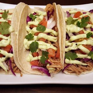 Pork Carnitas Tacos.