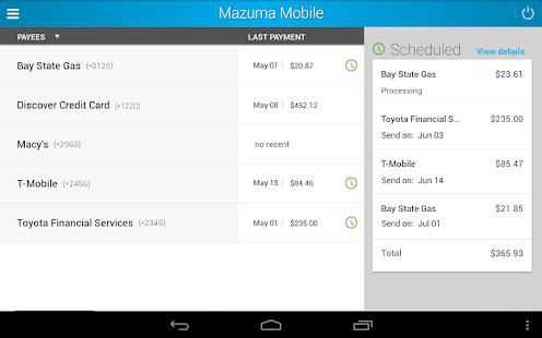 Mazuma Mobile Banking- screenshot thumbnail