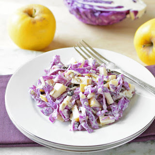 Opal Apple and Red Cabbage Slaw Recipe
