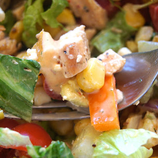 Southwest Summer Chop with Chipotle Dressing Recipe
