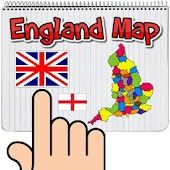 England Map Puzzle Game