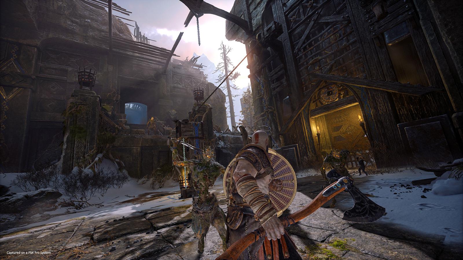Скриншот игры God of War 4