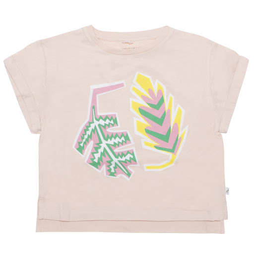 Primary image of Stella McCartney Pink Leaf T-shirt