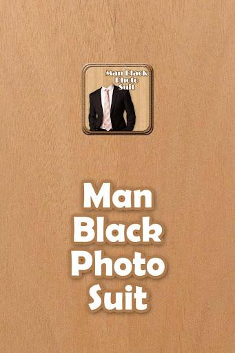 Man Black Photo Suit