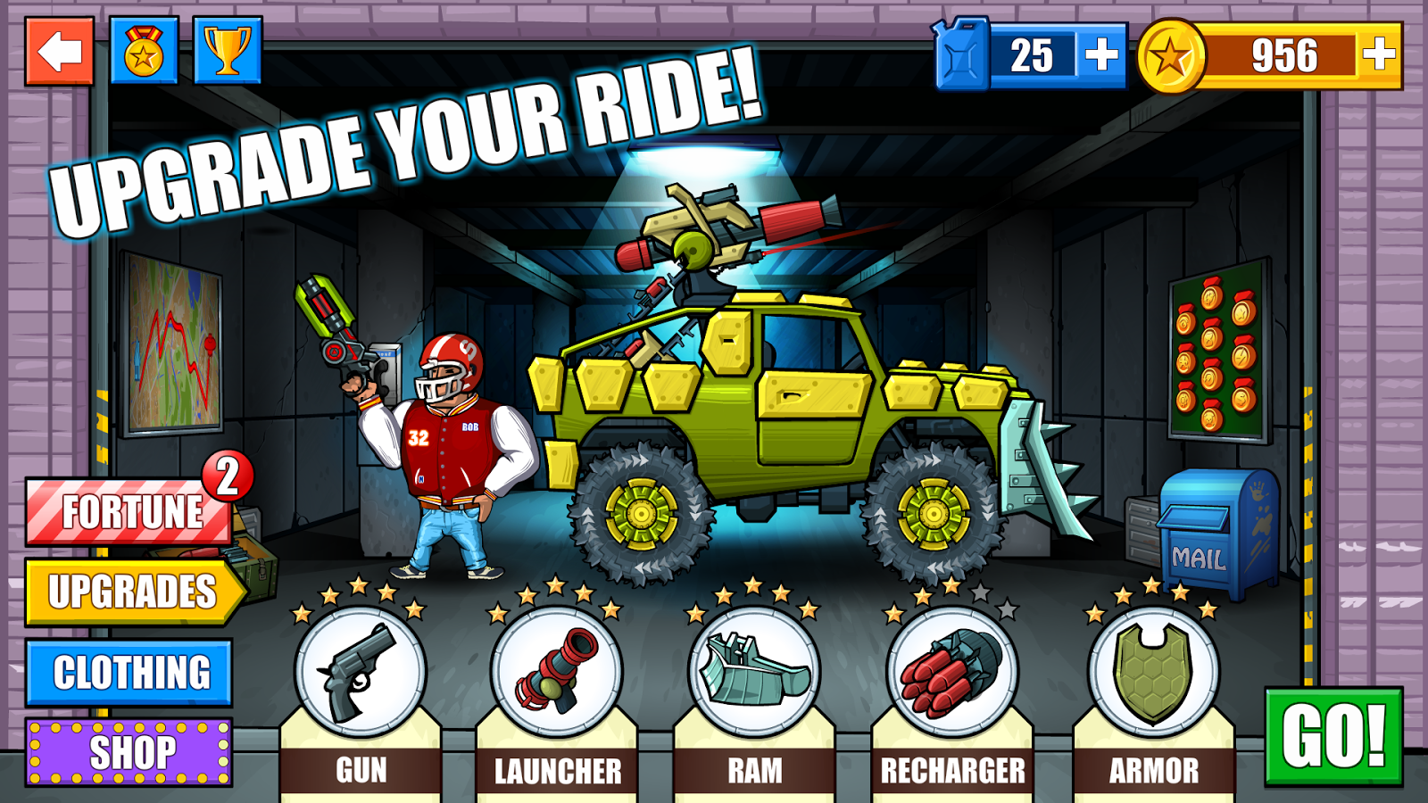 Mad Day - Truck Distance Game- screenshot