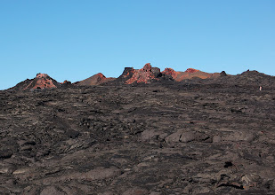 Photo: Up ahead, Stuart reaches another group of colorful vents ...