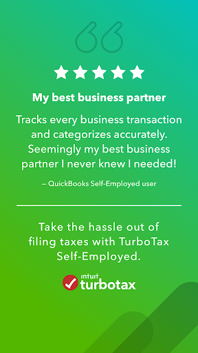 QuickBooks Self-Employed:Mileage Tracker and Taxes - screenshot