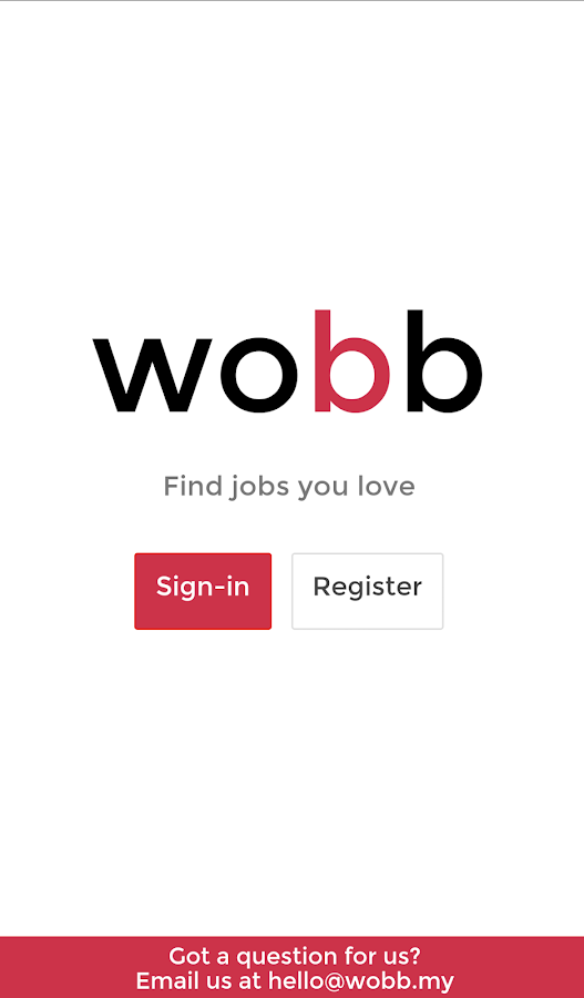 Wobb- screenshot