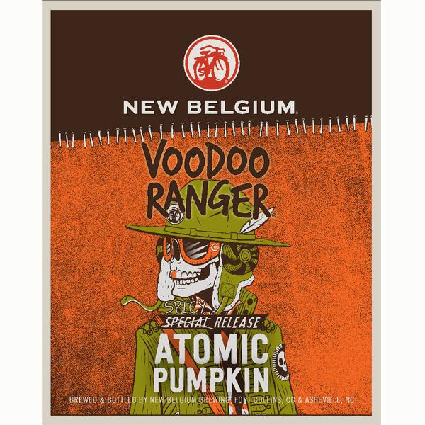 Logo of New Belgium Voodoo Ranger Atomic Pumpkin