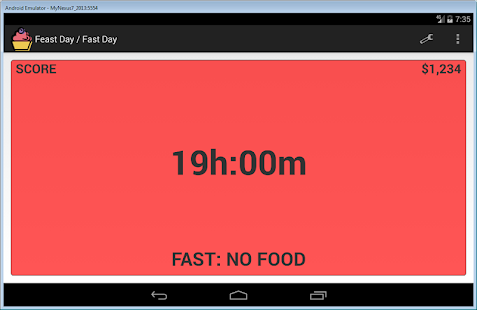 Feast Day Fast Day Cheat Day- screenshot thumbnail