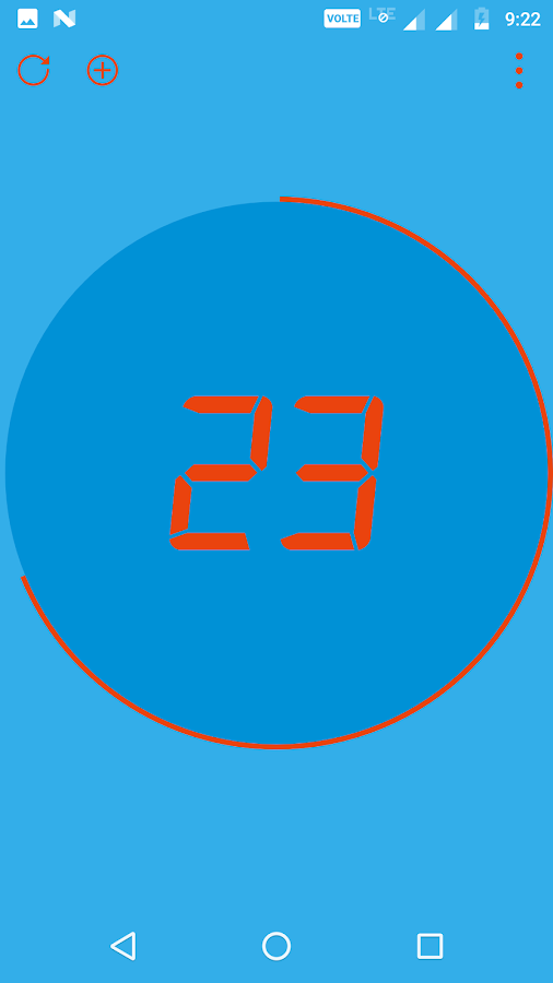 Digital Tally Counter- screenshot