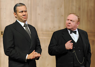 Photo: WIEN/ Theater in der Josefstadt/ Kammerspiele: THE KING'S SPEECH von David Seidler. Inszenierung Michael Gampe. Premiere 20. September 2012. Oliver Huether, Siegfried Walther. Foto: Barbara Zeininger