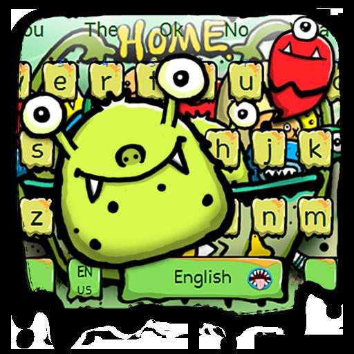 Monster Graffiti Keyboard