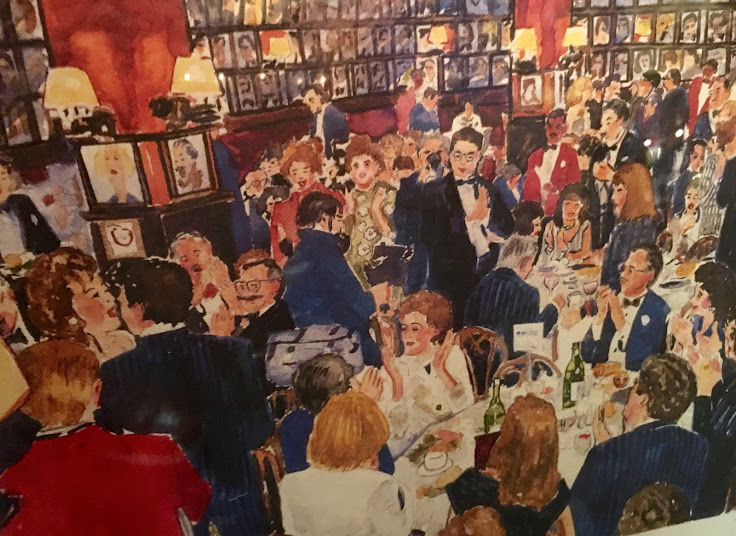 A painting of Sardi's.