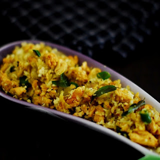 Motta Thoran (Scrambled Eggs With Coconut)