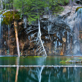 Hanging Lake Colorado by Eric Abbott - Landscapes Mountains & Hills ( eric abbott photography, hanging lake, waterfall, colorado )