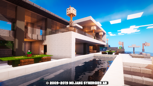 Modern house for mcpe 2.1 screenshots 1