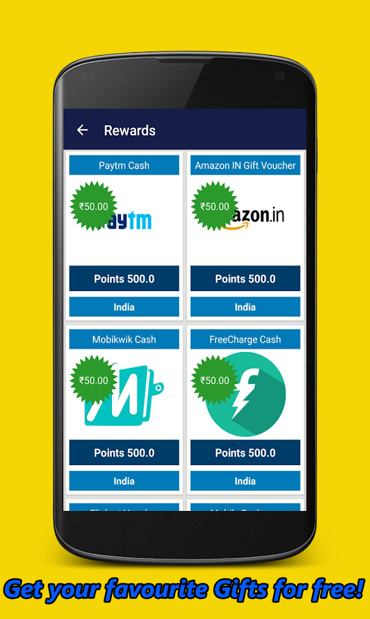 CashNGifts - Earn Money, Free Bitcoins, Recharge- screenshot