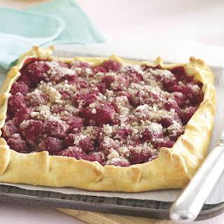 Raspberry Galette.