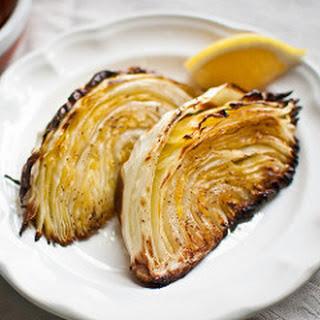 Roasted Cabbage with Lemon Recipe