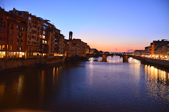 Photo: From Ponte Vecchio - Florence
