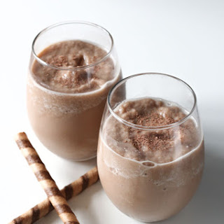 Peppermint Chocolate Coffee Smoothie.