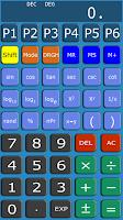 Screenshot of Programmable Calculator BASIC