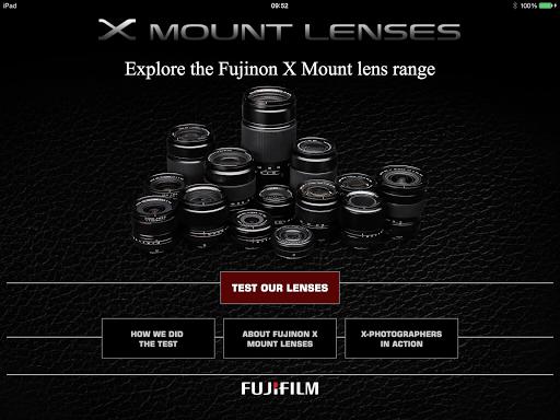 Fujifilm X Mount Lenses