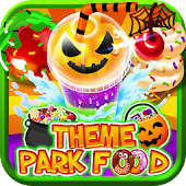 Halloween Fair Food Maker Game - Make Candy Donuts